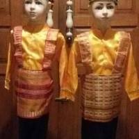 hoot sale Baju Adat Anak Aceh / tari saman ukuran S terjamin