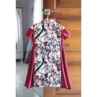 hoot sale Cutevina - Cheongsam and Cristmas Dress Red white /Dress