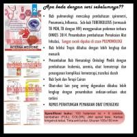 BARANG BAGUS BUKU SAKU KEDOKTERAN MEDICAL MINI NOTES INTERNA 2 PART