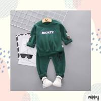 Limited Sweater Mouse Nippy Kids Wear - Baju Anak Modern Kekinian Hits