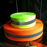 Pita Scotlight Scotlite Reflector Tape Reflektif Fluorecent Strip Hi