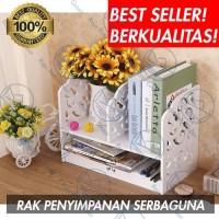 Rak Lemari Buku Majalah Album Hiasan Kamar Rumah Serbaguna Diy S533