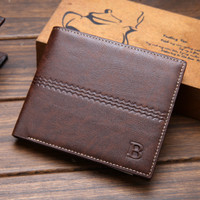 BREWYN MARCO mens deluxe wallet - dompet bifold pria