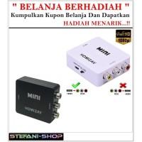 HDMI to AV Converter Adapter Minibox