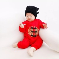 Baby Golden Chinese New Year Romper
