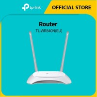 TP-LINK TL-WR840N 300Mbps Wireless N Router - White