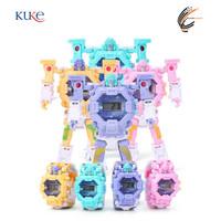 KUKE BOS749 Jam Tangan Desain Robot Kartun untuk Anak / Robot Wacth