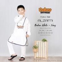 Baju koko Alzami New Ori Thaluna - Baju anak koko set celana pakistan