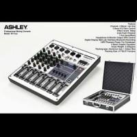 MIXER AUDIO ASHLEY M FOUR 4CH FREE KOPER ( USB,RECORDING,BLUETOOTH )