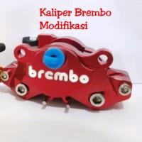 KALIPER BREMBO Full Cnc Thailand 2piston -Palak Babi Cakram
