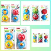 bola Fisher Price Baby Massage Training Ball mainan bayi bola karet