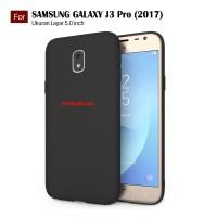 Slim Case Black Matte Softcase Samsung Galaxy J3 Pro (2017) / J330