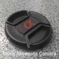 Tutup Lensa Lens Cap Sony Alpha