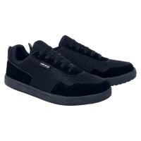 sepatu sekolah sneaker hitam anak laki-laki size 32 33 34 35 36 37 CJ3