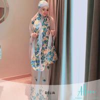 Mukena Cantik Amasya By Allura|Blue|Jumbo|Bali|Murah (013) - Biru
