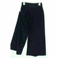 Celana Kulot Anak Umur 4-7th Bahan Jersey Tebel - Hitam