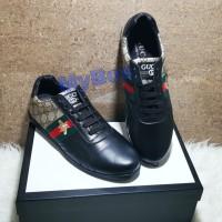 shoes gucci sepatu pria sneaker mirror branded terlaris Bee kets kasut