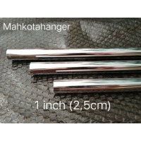 Pipa Bulat Besi Chrome 180cm (1,8meter)