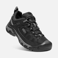 KEEN Men's Targhee EXP Waterproof Black/Steel Grey