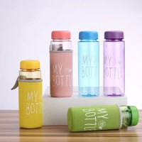 My bottle full warna free pouch busa 500 ml/botol minum warna TERMURAH