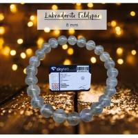 Gelang Crystal Healing Labradorite Feldspar Stone Premium (GBP175)