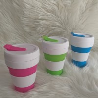 Gelas Lipat 'Pocket Cup' (350 ml) – Silicon Collapsible Cup