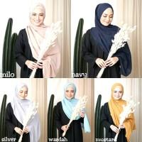 Jilbab Pashmina Sabyan Diamond Italiano Hijab Kerudung