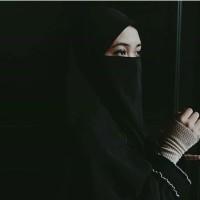 cadar tali 1 layer/cadar tali/niqab tali