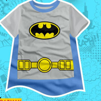 Kaos Anak Laki Laki Superhero Batman