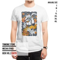 GEEK VOL.2 - MECHA OTAKU (GV71) |Kaos Geek|T-Shirt|