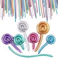 Balon Pentil Metalik Chrome / Twist Balloon Chrome / Balon modelling