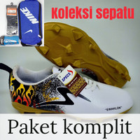 DISKON PAKET KOMPKIT SEPATU BOLA SPECS EWAKLOK SIZE 39-43