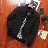 Jaket pria cowo laki-laki murah keren nyaman model harrington premium