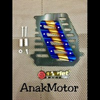 Terpopuler Cover Radiator Nmax And Aerox Cnc Merk Scarlet Termurah