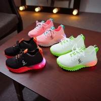 SK OFF Sepatu Sneakers Anak Laki-Laki / Perempuan Casual Bayi Import L