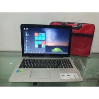 Laptop ASUS A555L IntelCore I5 RAM 4GB HDD 1TB NVIDIA 940M Mulus Murah