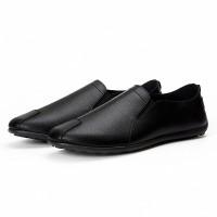 Mainland- Fashion Sepatu Kulit Pria Slip On Semi Formal KSP201