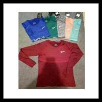 Big Promo Kaos Pakaian Olahraga Gym Sport Nike Lengan Panjang #570