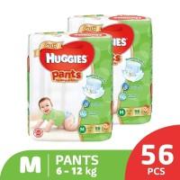 Huggies Gold Pants Popok Celana M 56 2 Pack