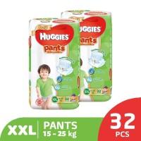 Huggies Gold Pants Popok Celana XXL 32 2 Pack