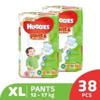 Huggies Gold Pants Popok Celana XL 38 2 Pack