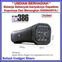 Speaker Karaoke Bluetooth Soundbar Khusus Untuk TV Dazumba DW386