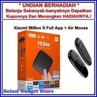 Xiaomi Mi Box S 4K Full App International Free Airmouse Keyboard