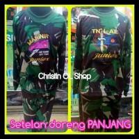 Baju Pahlawan Doreng Anak-Anak (Panjang). Ready Stock!!