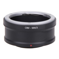 New OM-M4/3 Adapter Ring for Olympus OM Lens to MICRO43 Camera OM-D