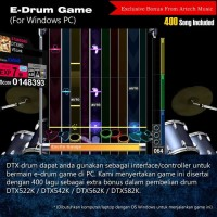 BIG SALE Drum Elektrik Yamaha DTX522K + Extra Pad