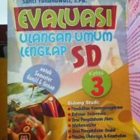 Buku Kitab Evaluasi Ulangan Umum Lengkap Sd Kelas 3