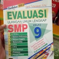 Buku Kitab Evaluasi Ulangan Umum Lengkap Smp Kls 9