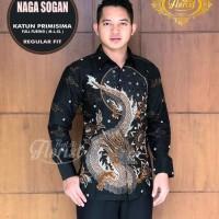 Naga Sogan Kemeja Batik Solo Lengan Panjang Full Furing By Florist