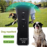 SALE sanwood ready Handheld Ultrasonic Infrared Dog Repeller Anti